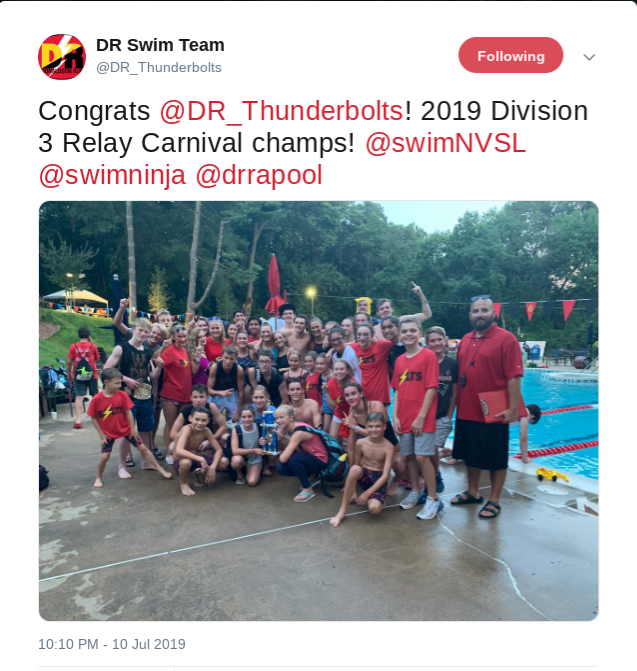 42c21c04d0272 Of course, with it being week 4, there was a lot of important racing action  - here was a critical race from the Overlee-Tuckahoe meet in the 15-18  girls 50m ...